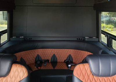 Sprinter Rounded Seating